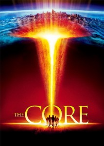 Movie poster from <em>The Core</em>, courtesy of Paramount Pictures