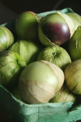 Tomatillos, courtesy of Flickr user Polkaroo
