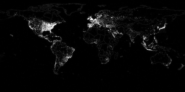 The world according to twitter in maps science smithsonian tweets from around the world plotted by location as part of a new study click to enlarge image via first mondayleetaru et al gumiabroncs Image collections