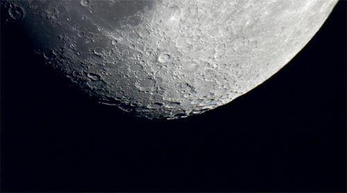 Tycho is the prominent crater just above center.