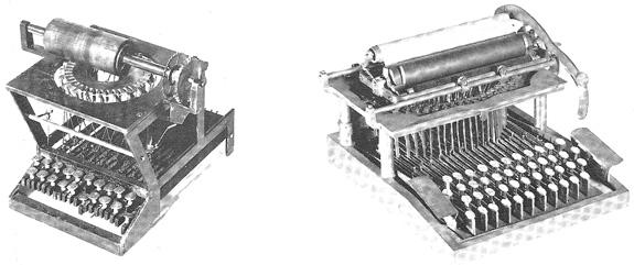 sholes typwriter