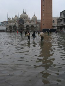 Venice flooding may not end with floodgates (courtesy of flickr user gwenael.piaser)