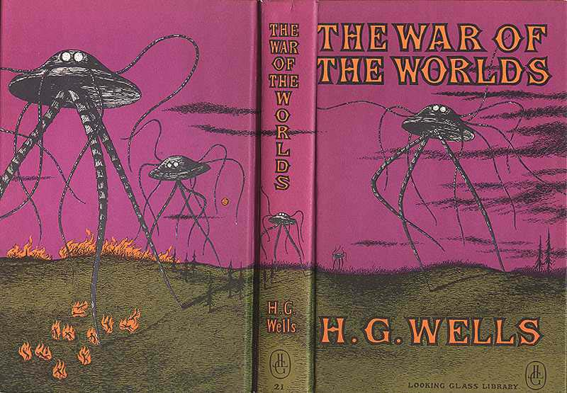 war of the worlds book cover. war of the worlds book cover