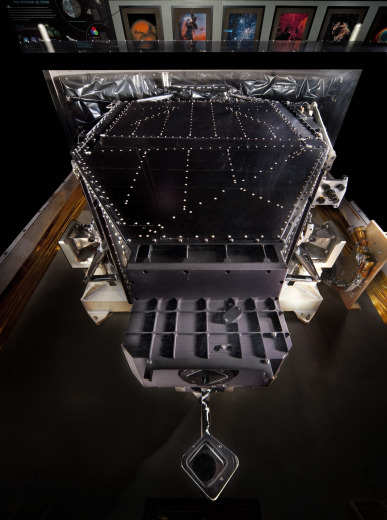 Installed on Hubble in December 1993 along with COSTAR, both designed to correct for Hubble's flawed mirror, WFPC2 was the first instrument to demonstrate the unique capability of astronomical imaging from space.  WFPC2 was returned to Earth, after more than fifteen years in orbit, in May 2009. Photo by Eric Long.