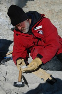 Antarctic dinosaur hunter William Hammer (Credit: Nathan Smith)
