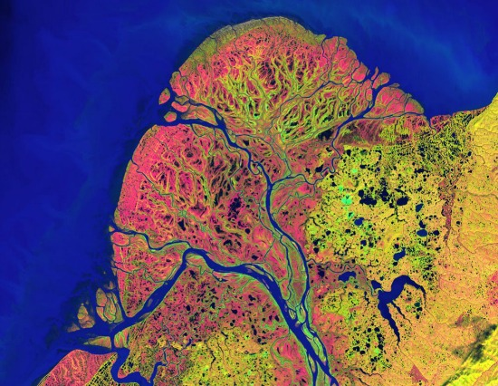 satellite images alaska