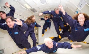 That's me on the right (All photos by Steve Boxall, Zero-G)
