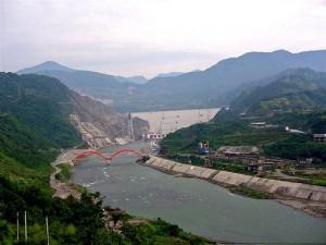 Zipingpu Dam, China (Courtesy of flickr user TaylorMiles)