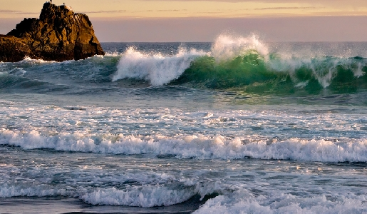 An Ocean Wave at California Coast   Photo by Vera Smirnoff, Smithsonian Magazine Photo Contest