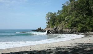 Costa Rica's pristine beach