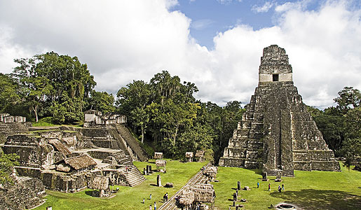 The city of Tikal, Guatemala. Photo: Daniel Loncarevic