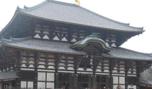 The group heads to the Todaji Temple