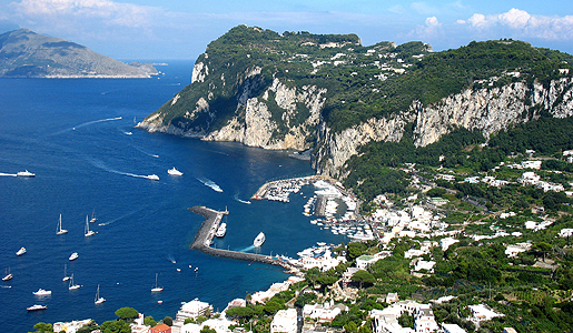 The Italian island of Capri was once overrun by pirates. Today, it's a popular relaxation spot.
