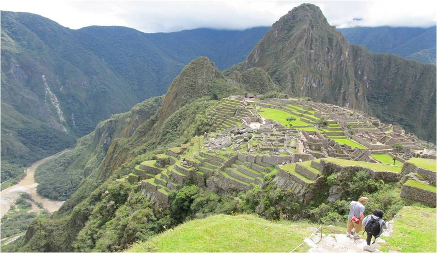 Smithsonian travelers visit Machu Picchu, many for the first time. Photo: David Scott Palmer.