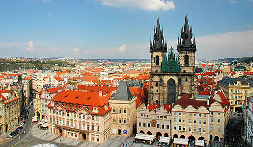 Old Town Prague, a UNESCO World Heritage Site since 1992