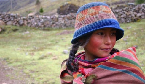 A young Peruvian woman. Photo: Deborah Fryer.