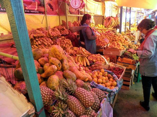 Peruvian Fruit and Vegetable Market