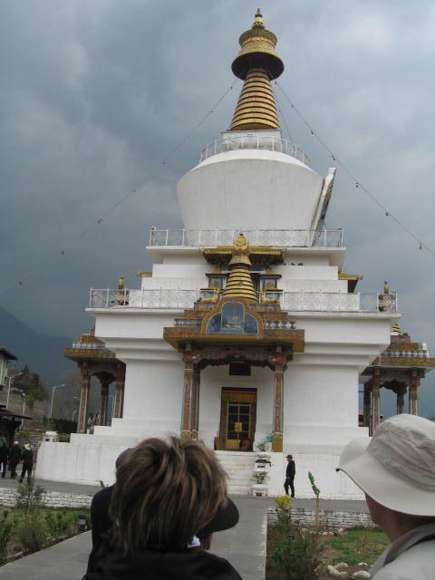 Stupa in Thimphu