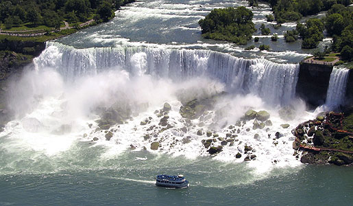 The American Falls of Niagara