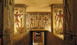 The tomb of Ramses II on the West Bank