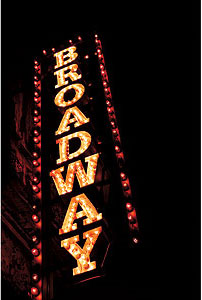 Broadway, the Great White Way