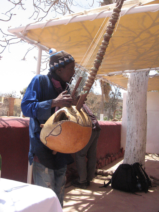 Playing the Griot on Goree