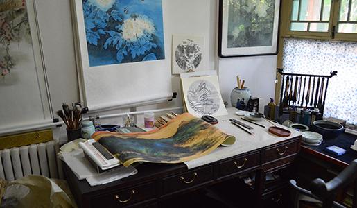 Artist's studio, Beijing