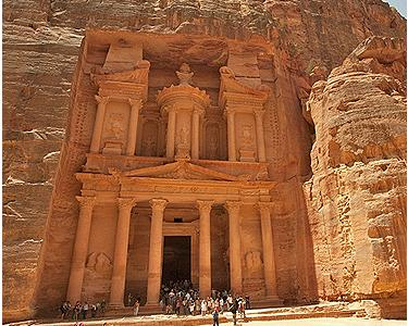 The Treasury at Petra is not a treasury at all.