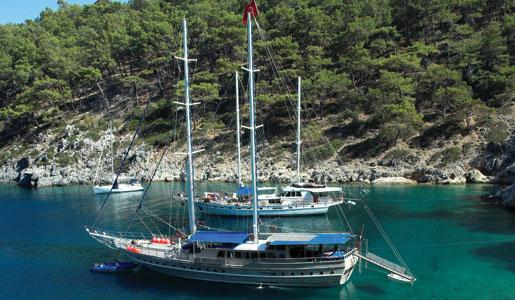 A Turkish gulet