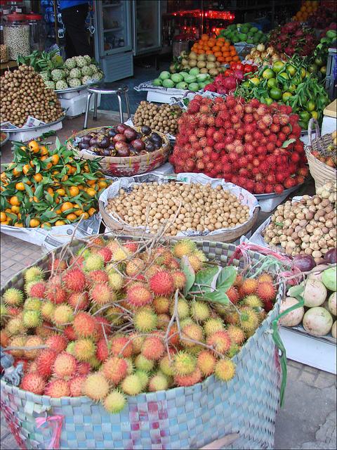Fruit market, Cần Thơ, Vietnam