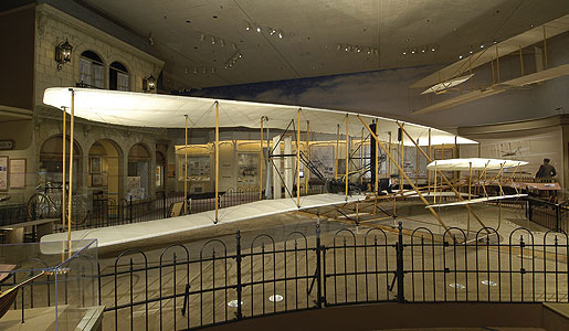 The 1903 Wright Flyer changed aviation forever. Photo: National Air and Space Museum