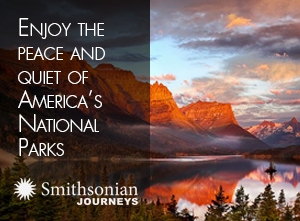 Enjoy the peace and quiet of America's National Parks