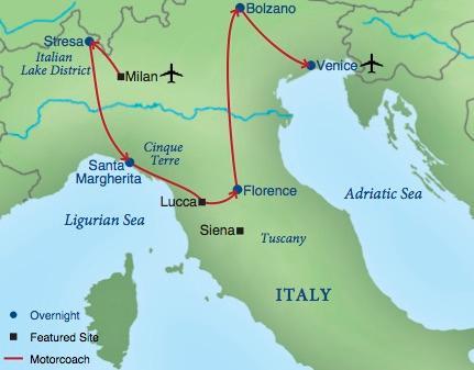 Northern Italy  Smithsonian Journeys