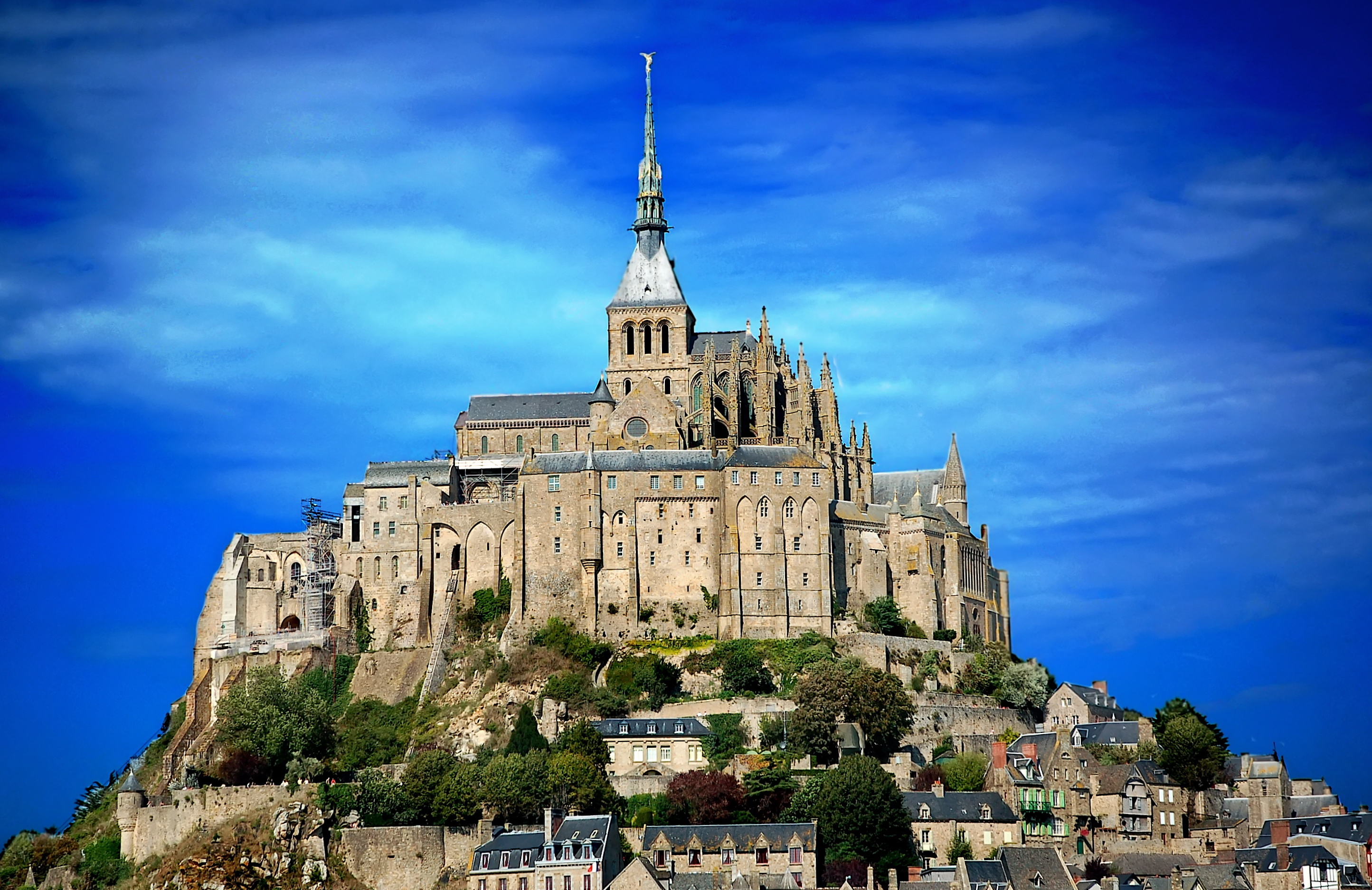 Cathedral at Mont-St-Michel. Photo: Courtesy of FlickR user Tc7