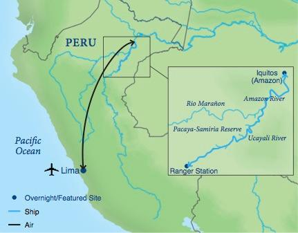Image result for Amazon river cruise peru