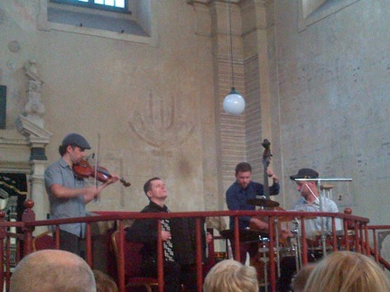 Klezmer band in Krakow
