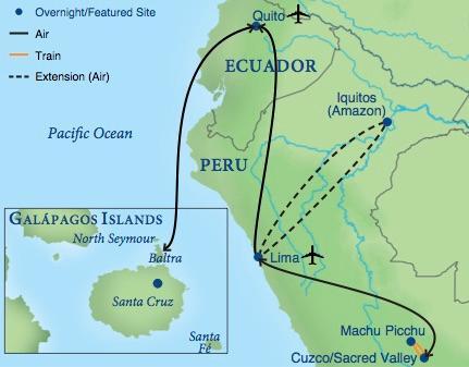 Machu Picchu Galapagos Smithsonian Journeys