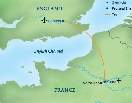 cost of train from london to paris