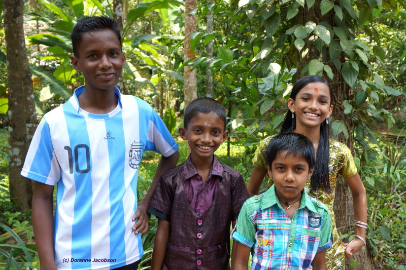Friendly children of Kerala