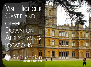 Visit Highclere Castle and other Downton Abbey filming locations