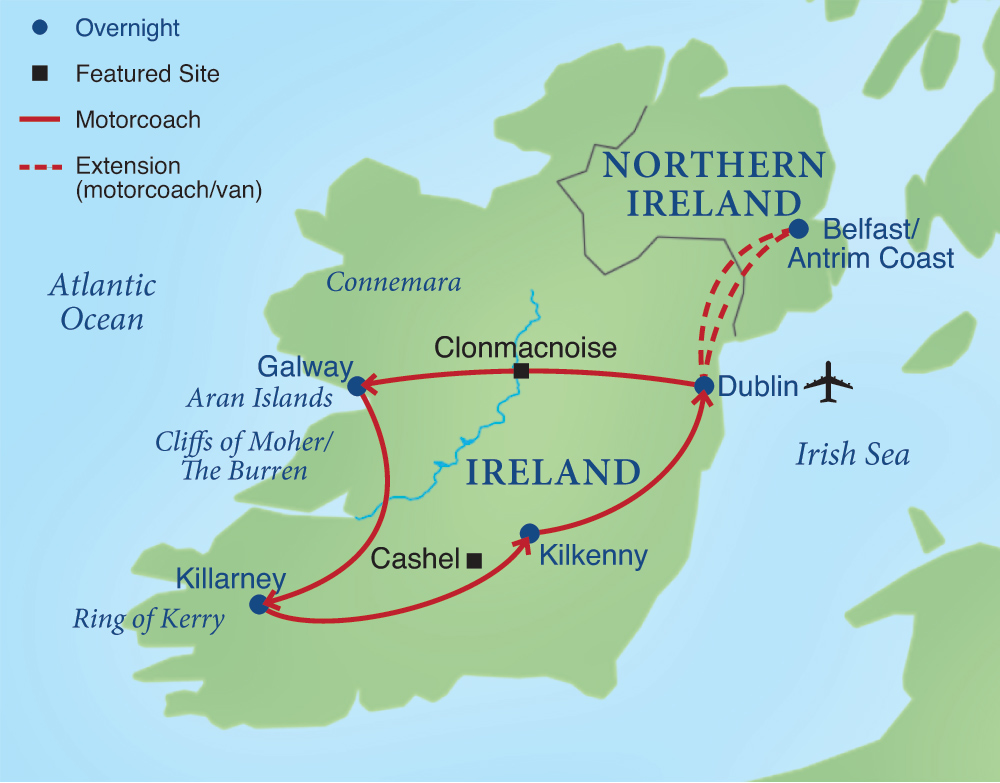 the emerald isle smithsonian journeys