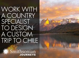 Work with a country specialist to design a custom trip to Chile