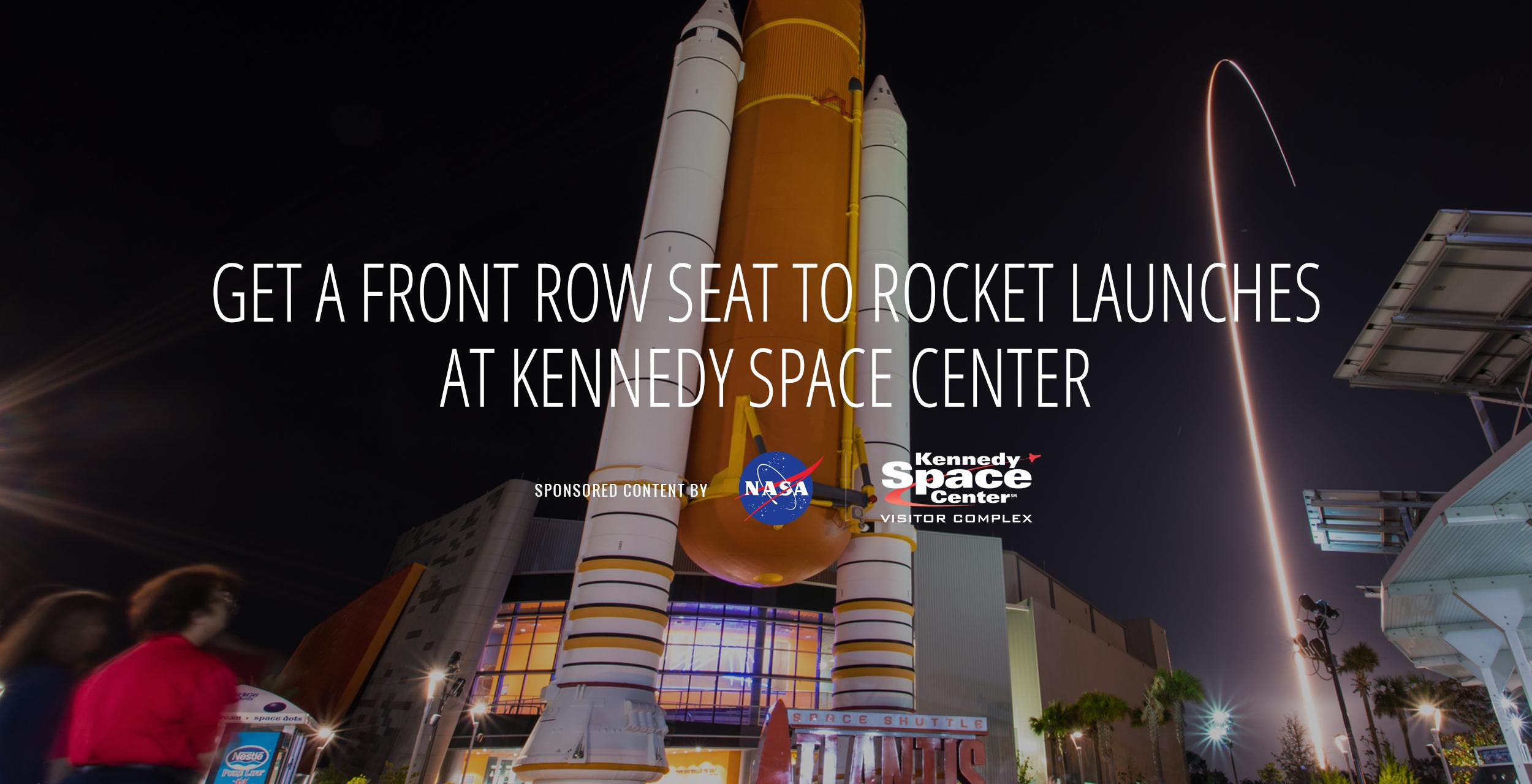 Get a Front Row Seat to This Year's Rocket Launches at