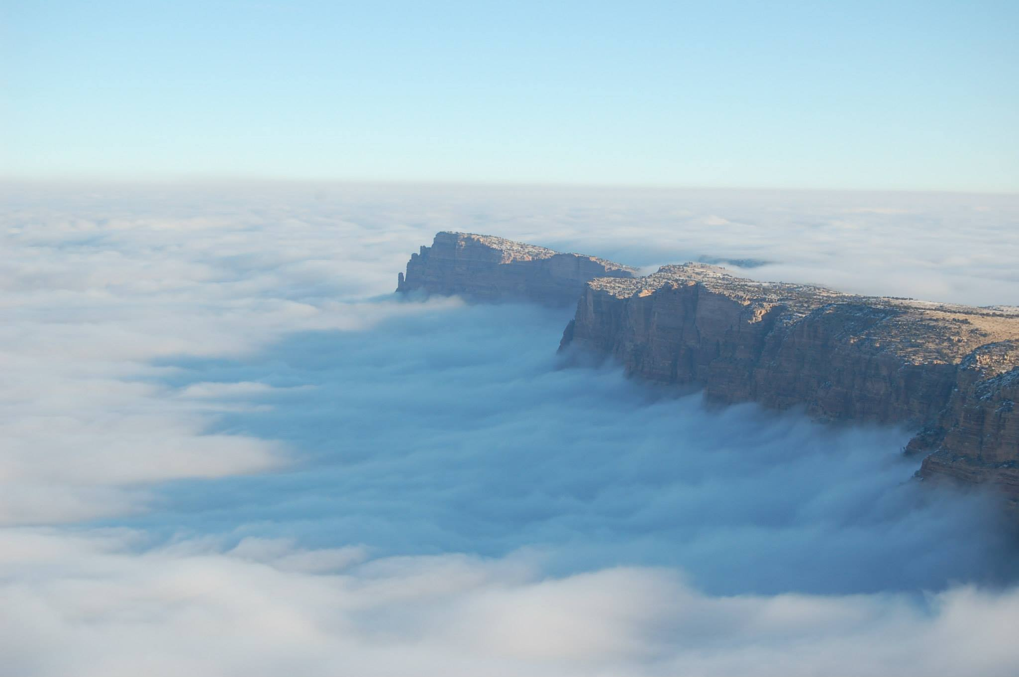 Photograph: This Awesome Atmospheric Anomaly Filled The Grand Canyon