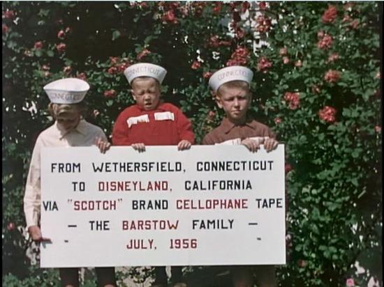 the barstow children in a scene from disneyland dream - Steve Martin Christmas Movie
