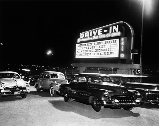 History of the Drive-in Theater