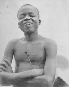 Ota Benga at the 1904 World's Fair, via Wikimedia Commons