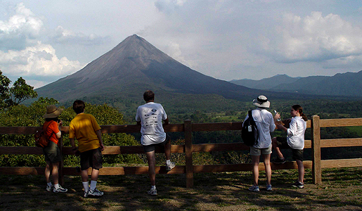 The Arenal Volcano. Photo: Costa Rica Tourism Bureau