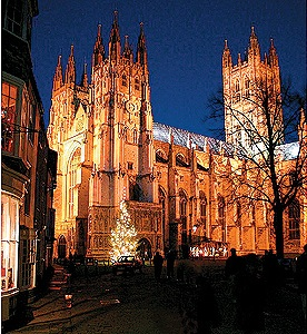Canterbury Cathedral, destination of Chaucer's Pilgrims