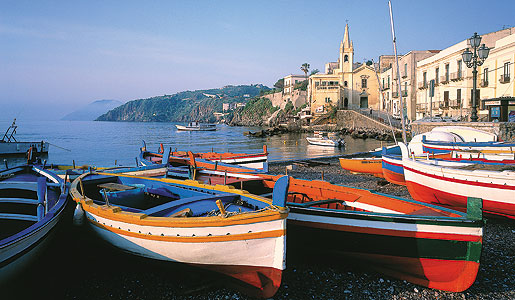 Fishing Boats in Beautiful Sicily